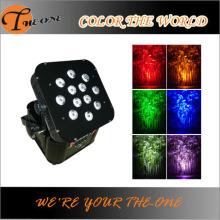 LEDワイヤレスバッテリーフラットPAR DJライト
