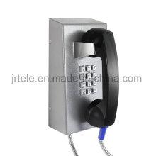 Антивандальная протокол SIP/VoIP Телефон, тюрьма Бесшнурового телефона, прочный беспроводной Телефон
