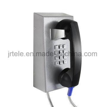 Vandalensicheres SIP / VoIP Telefon, Gefängnis Schnurloses Telefon, Robustes drahtloses Telefon
