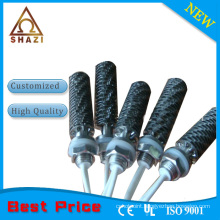 cartridge heating element with bolt heaters
