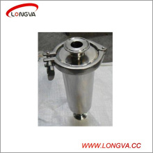 Sanitary Stainless Steel Clamped Straight Filter