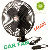 "2014 Hot Sell 8""Deluxe Metal Car Fan with CE and RoHS"