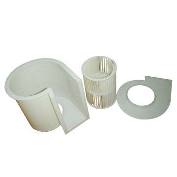 Molde de inyección de plástico complejo para piezas domésticas en China (LW-03697)