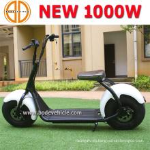 Vespa Harley del ciclomotor eléctrica de la rueda grande de Bode 1000W con batería de litio
