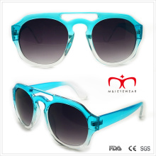 Plastic Unisex Sunglasses with Special Shape (WSP508287)