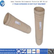 L'eau de filtre perforée par aiguille non-tissée et filtre à poussière de la poussière Fms oléofuge pour l'industrie