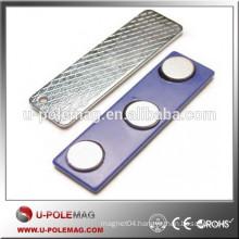 F45mm*13mm bar Neodymium Magnetic Badge