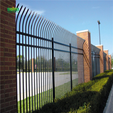 High Security Galvanzied Zinc Steel Staket