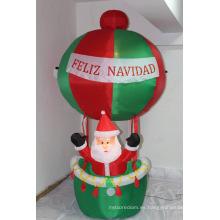 Decoración inflable iluminada al aire libre estupenda competitiva de la Navidad