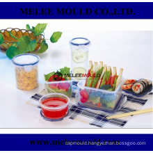 Plastic Mold for Stackable Clear Containers Multi-Functional Organizer