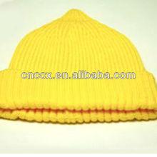 PK17ST326 Mesdames dernière conception bonnet à la mode chapeau en tricot