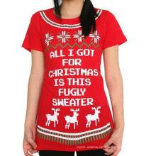 14STC8906 2014 Weihnachtsstrickjackefrau