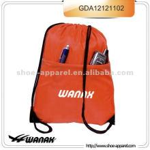 Amostras grátis 210D Drawstring Bag Gym Sack