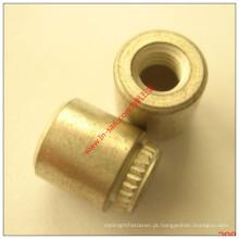 PWB rebite oco de cobre da placa de circuito frente e verso do tipo