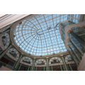 China Large Span Shopping Mall Steel Frame Structural Glass Dome Roof Skylight