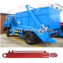 Cilindro hidráulico telescópico para compactador de basura