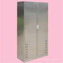 Mueble de hogar, hogar, limpio, herramienta, gabinete 304, acero inoxidable, 2, gabinete de puerta