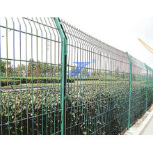 Double Border Wire Square Post Fecne