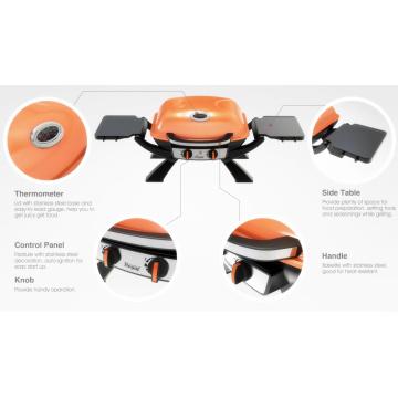 2016 New Weber Design Portable Folding Gas BBQ Grill