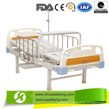 2 Function Stainless Steel Manual Hospital Bed for Sick Room