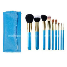 9PCS Portable Make up Cosmetic Brush Set