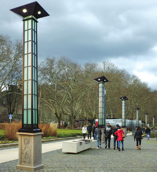 landscape lamp post supplier