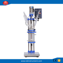 1L Laboratory Fermentation Jacketed Glass Reactor