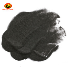 Polvos de materias primas abrasivas de alúmina fundida negra