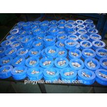 Flapper вода вафельный тип двойной пластинчатый обратный клапан ковкий чугун с подпружиненной бабочкой комплект клапан низкого давления обратный клапан цена