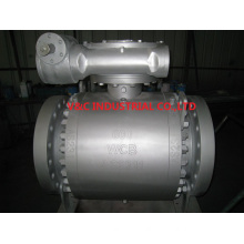 Trunnion Mount Ball Valve with Teflon Seat