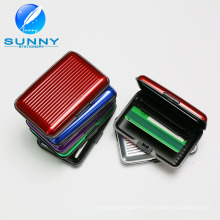 2015 Fashion Aluminum Credit and Name Card Holder Business Card Wallet for Promotion Gifts