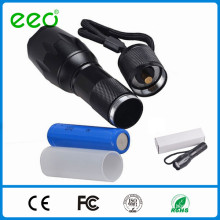 High Power LED Torch flashlight rechargeable led torch