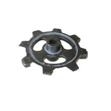 Piezas de andamio de acero de precisión de proceso de fabricación personalizada