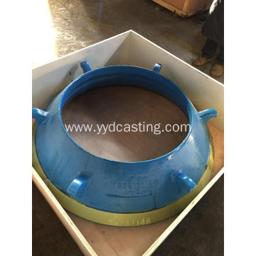Bowl linner parts for cone crusher