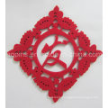 Hot Selling Christmas Decoration Polyester Felt Coaster (Coaster-29)