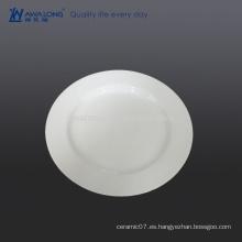 Logotipo de 10 pulgadas Placa de cerámica personalizada para la cena