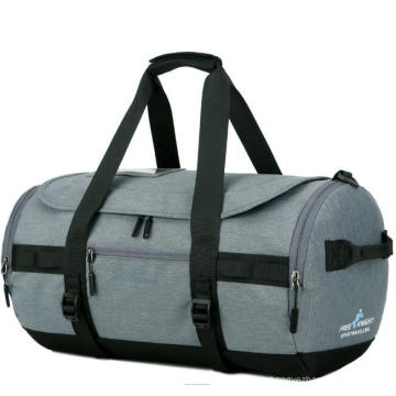 Custom Sports Duffel Gym Bag Foldable Travel Bags Waterproof with Shoes Compartment