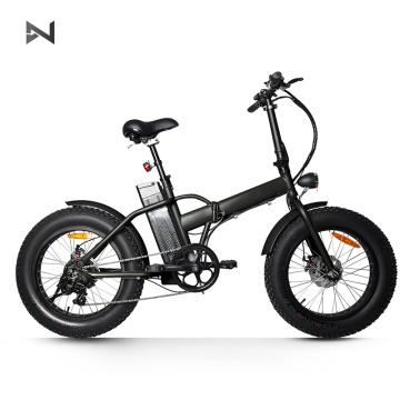 Bicicleta elétrica 250W 36V com quebra de disco