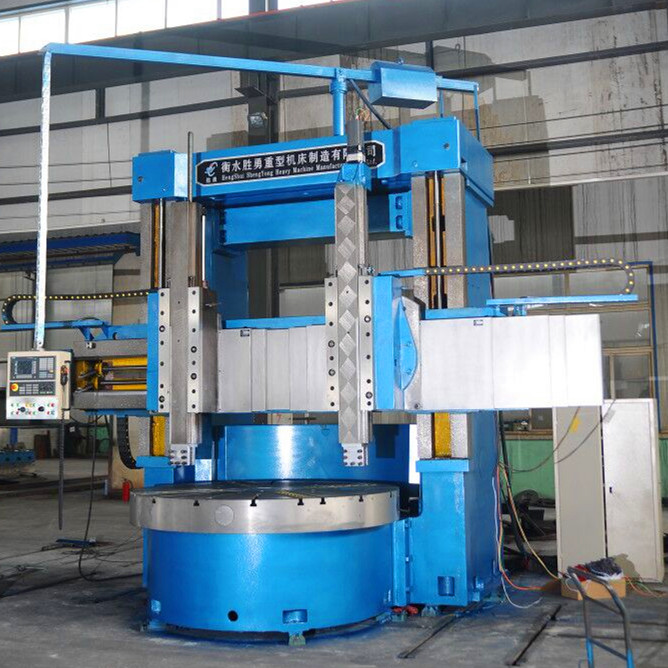 Large size vertical lathes
