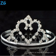 Alta qualidade pentes nupciais de cristal, pentes de cabelo barato, pente de cabelo do coração do casamento,