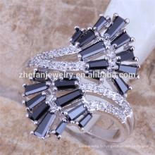 Nouveau modèle bague diamant or blanc bague, Chine usine direct gros bijoux