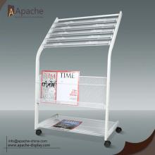 High Performance for Logo Display Newspaper Magazine Floor Display Stand supply to French Guiana Exporter
