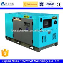 1500rpm single phase Quanchai 8kw ac diesel generator