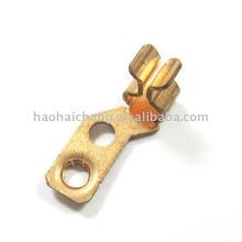 utilizado para el termóstato de la acción de Snap Clip del terminal del alambre de cobre
