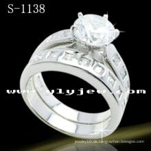 Neue Stile 925 Sterling Silber Ringe Sets (S-1138)