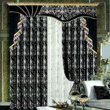 2015 vente chaude exclusive et modèle design chic rideau simple