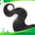 """8 """"-20"""" disponible Brazilian Loose Wave remy cabello humano encaje cierre"""
