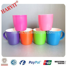 2015 New Products Spray Glazed Ceramic Mugs, Color Glazed Ceramic Stoneware Mug