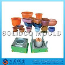 New design plastic injection flower pot mould supplier