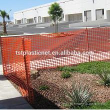 valla de seguridad de balcón de plástico